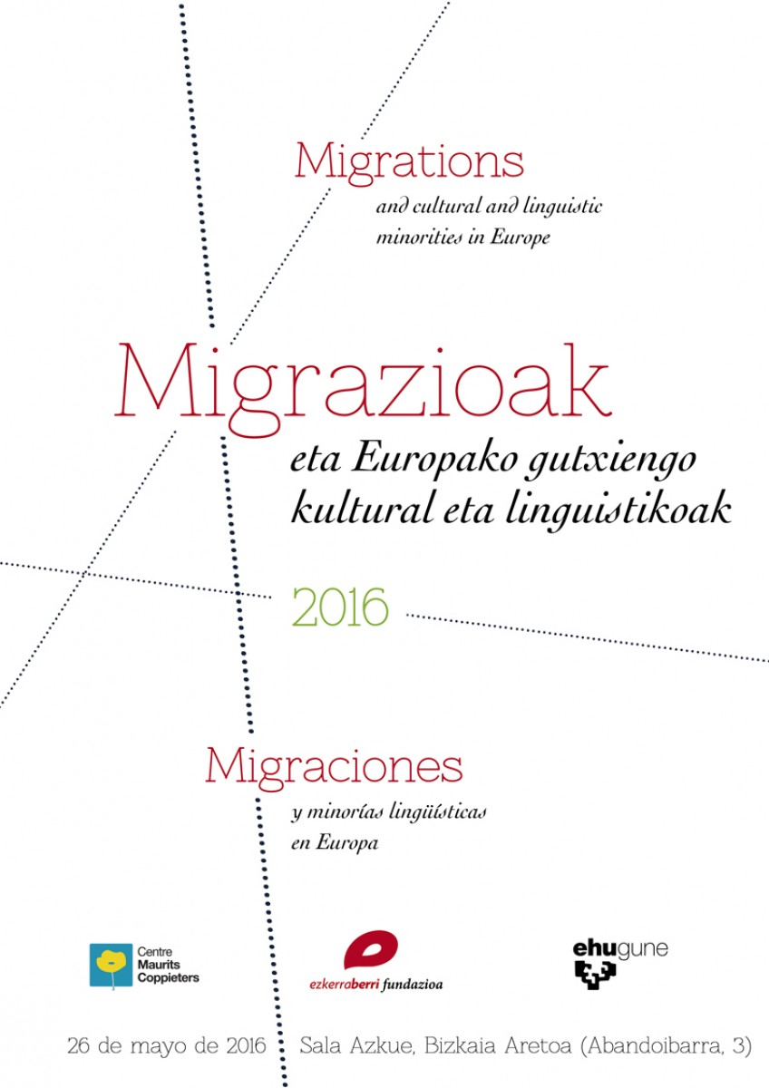 Migrations and cultural and linguistics minorities in Europa